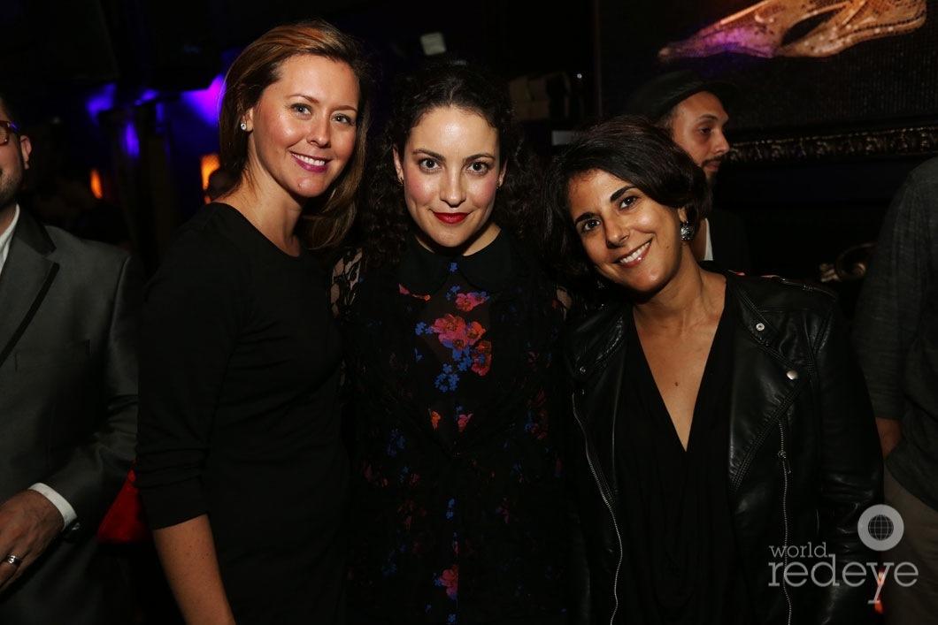 Oriane Lluch, Galena Mosovich, & Sara Liss