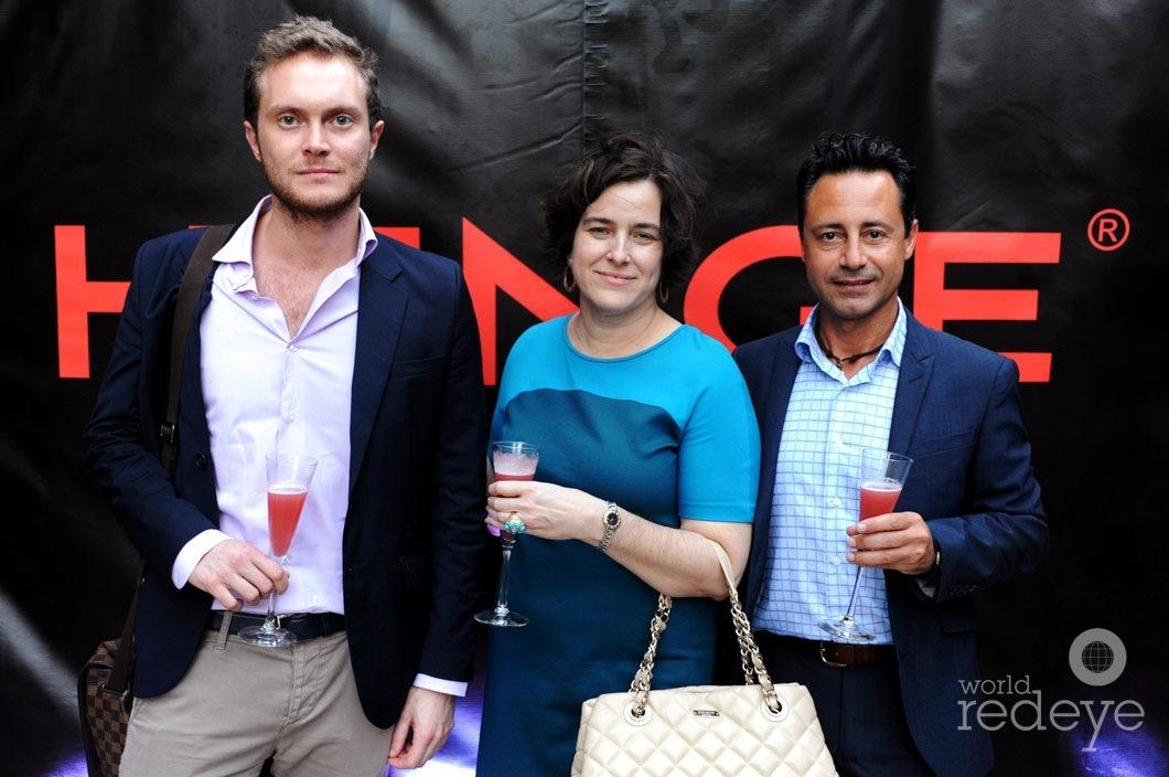 Marco Oleari, Maritza Pena, & Francesco Piccirillo