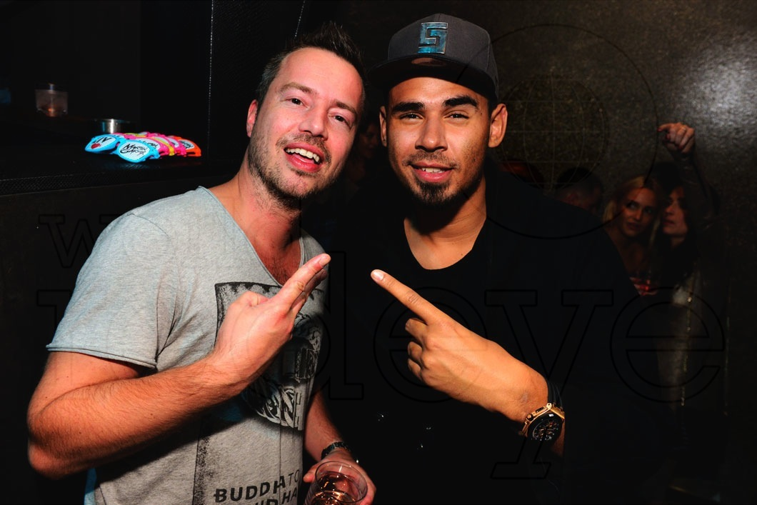 Photo of Sander Van Doorn & his friend  Afrojack