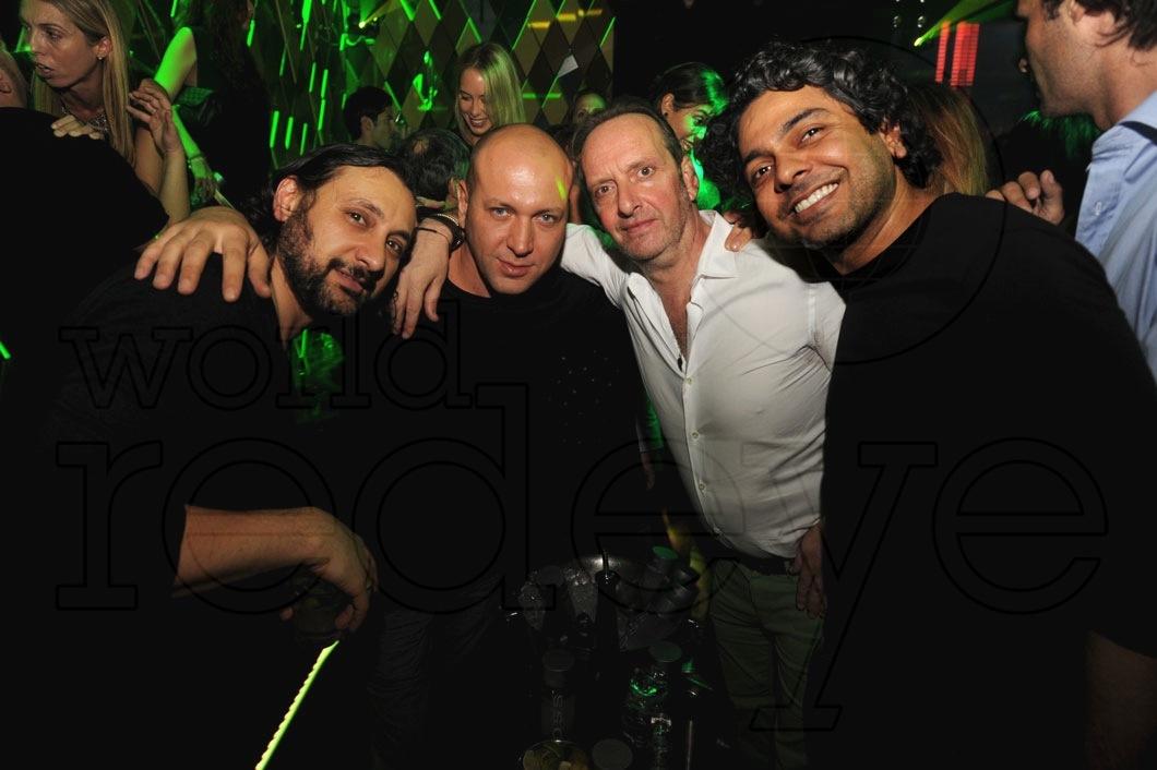 Sharam, Marco Carola, Nicola Siervo, & Navin Chatani