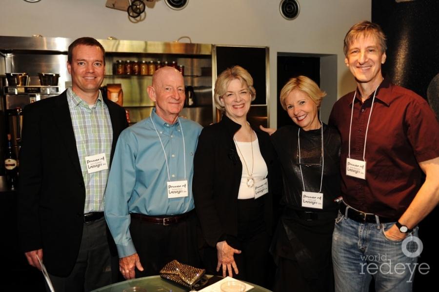 Kevin Doeksen, Richard & Dickie Davis, Cathy Leff, & Andy Borowitz