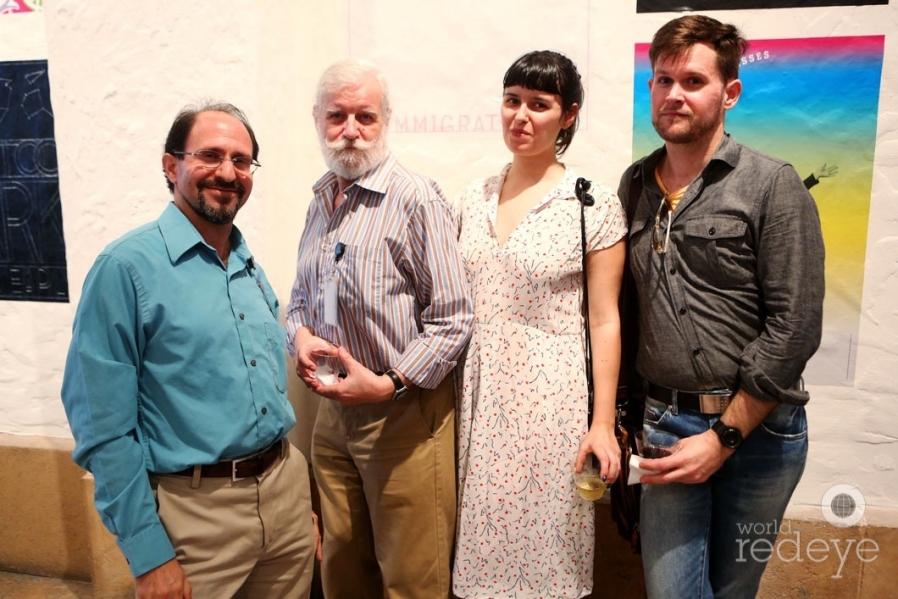 Frank Luca, Niki & Anna Harsanyl, & Shawn Clybor