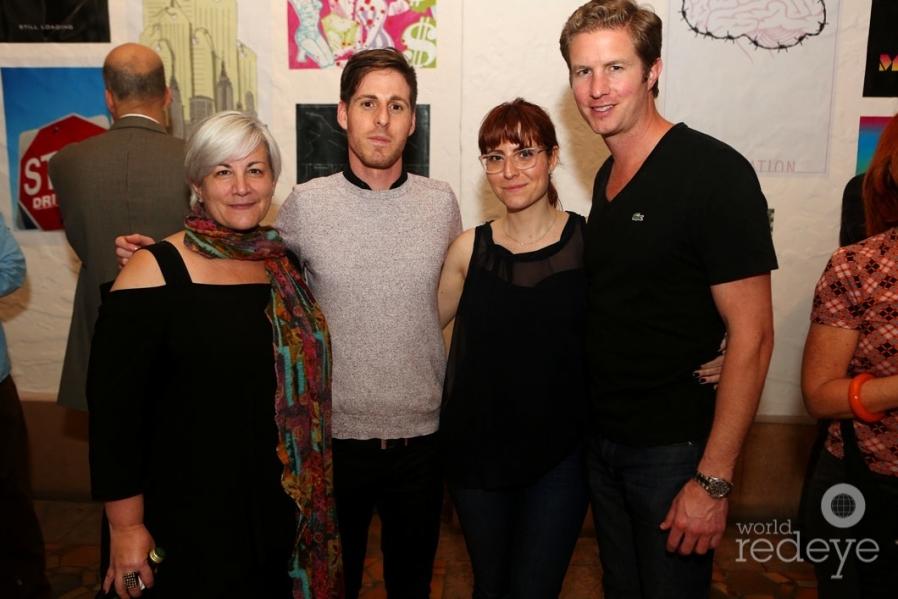 Sharon Misdea, Mathew Abess, Ashley Melisse Abess, & Matthew Vander Werff