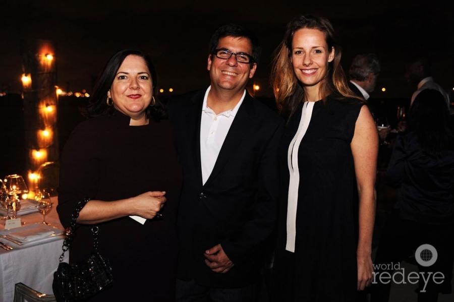 Silvia & Alfredo Cubina, & Viviane de Kuyper