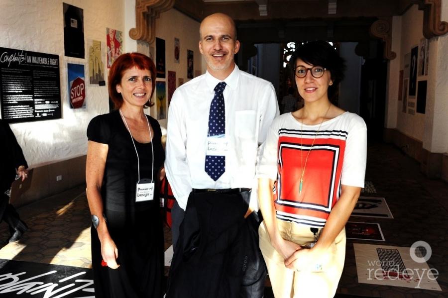 Silvia Barisone, Jon Mogul, & Maria Trujillo