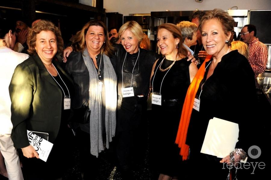 Susan Hakkarainen, Terry Schechter, Cathy Leff, Susan Ibarguen, & Iran Issa Khan