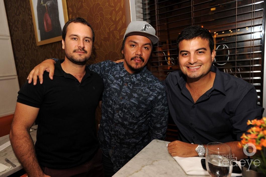 Lucas Arfelli, Tatanka, & Gabriel Filassi