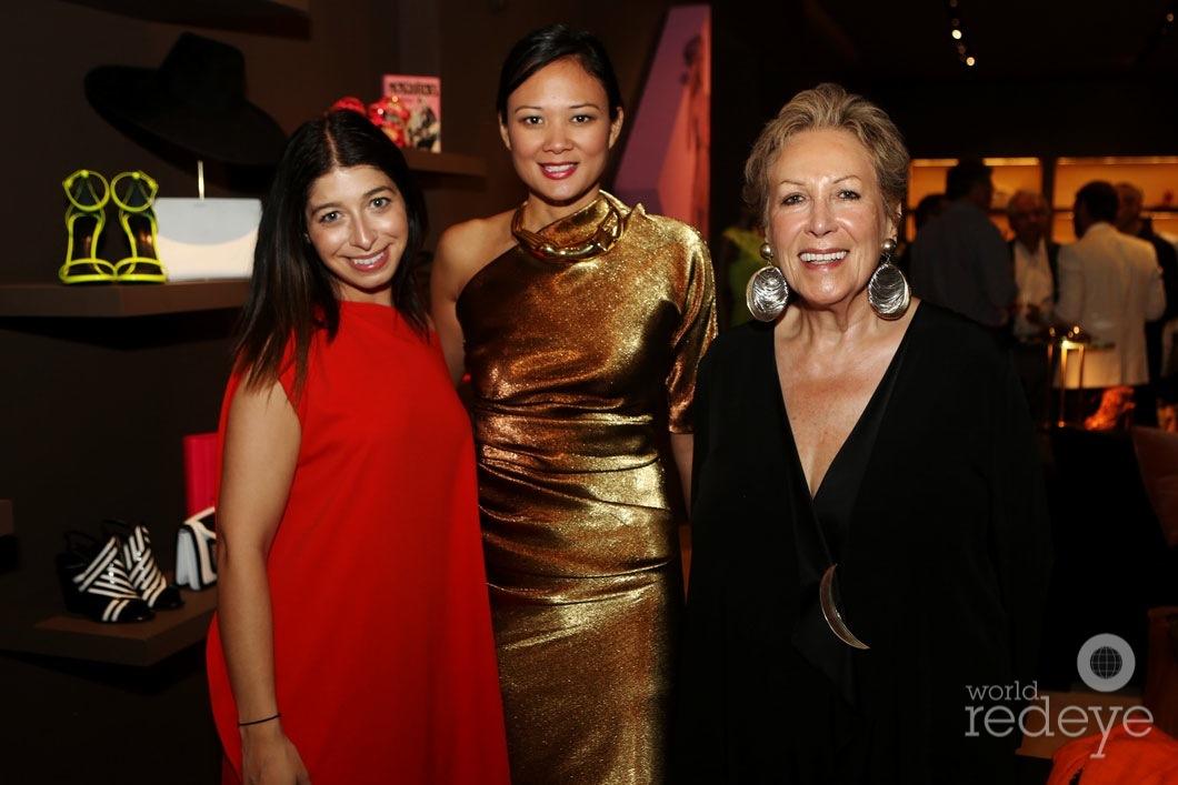 Stephanie Mark, Criselda Breene, & Iran Issa-khan