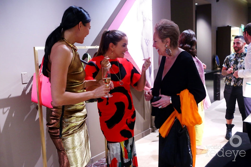Criselda Breene, Laure Heriard Dubreuil, & Iran Issa-Khan