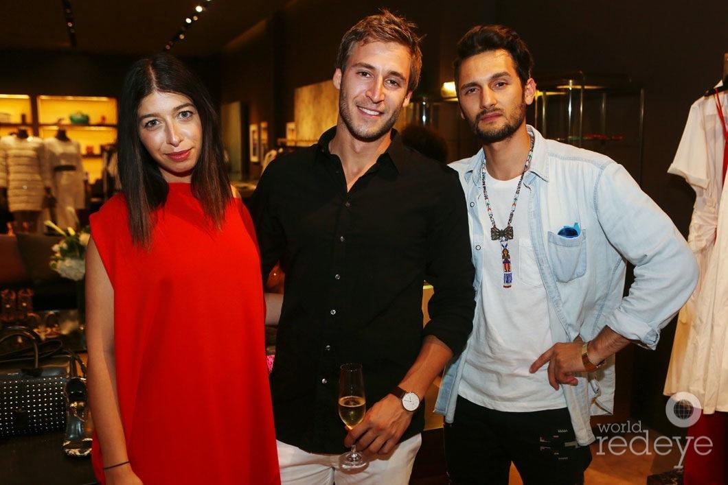 Stephanie Mark, Jake Rosenberg, & Camilo Rios