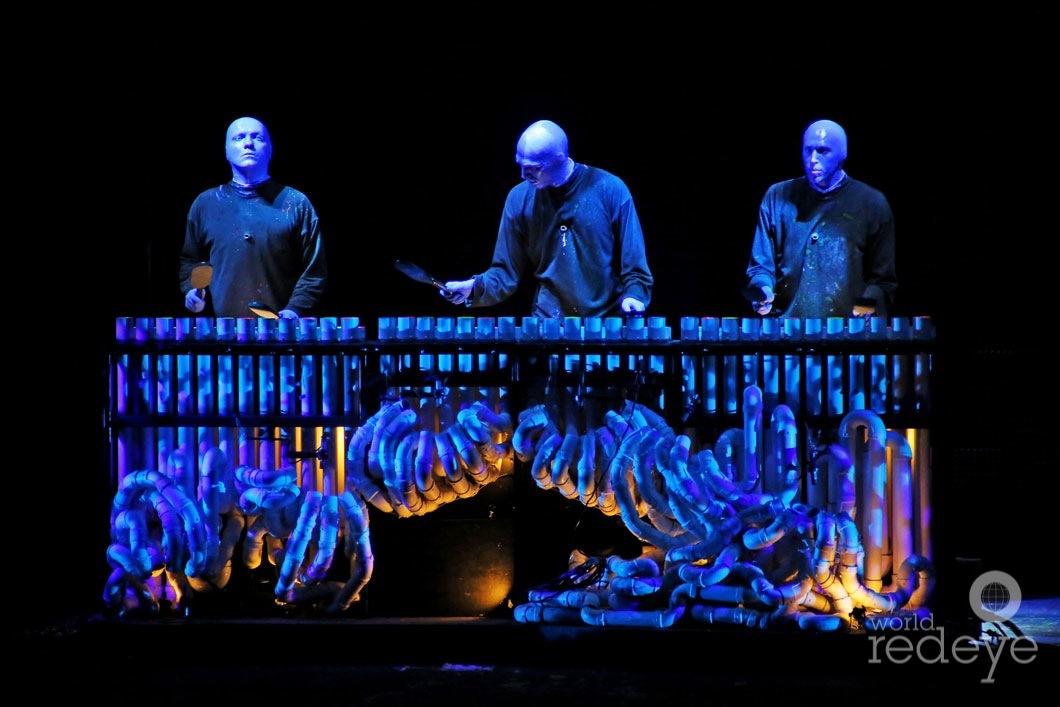 Blue Man Group at Arsht Center - World Red Eye | World Red Eye