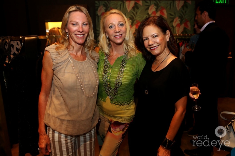 Betsie Piussan, Judy Holm, & Nisi Berryman
