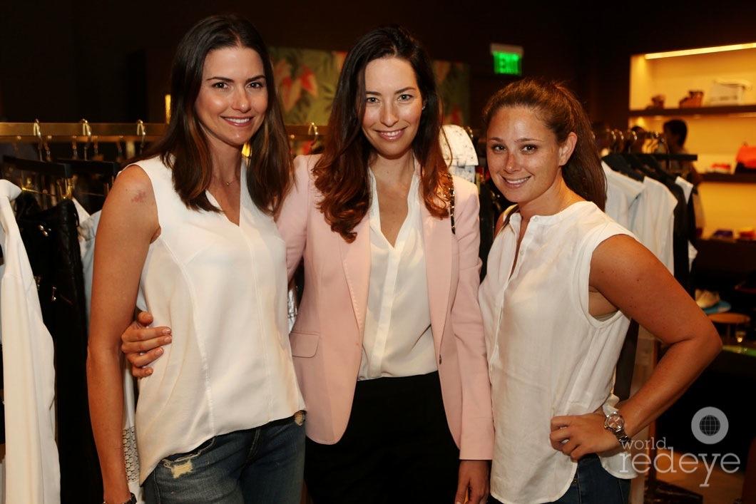 Tracy Slavens, Rachel Furst, & Sara Wolfe