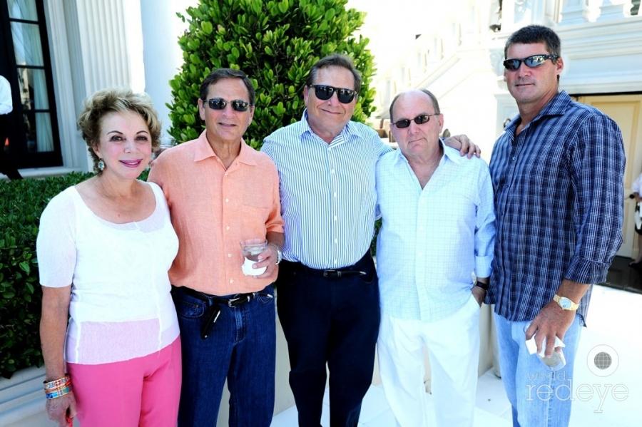 Suzy & Neil Finkelstein, Richard Finkelstein, Chuck Johnson, & Chris Johnson
