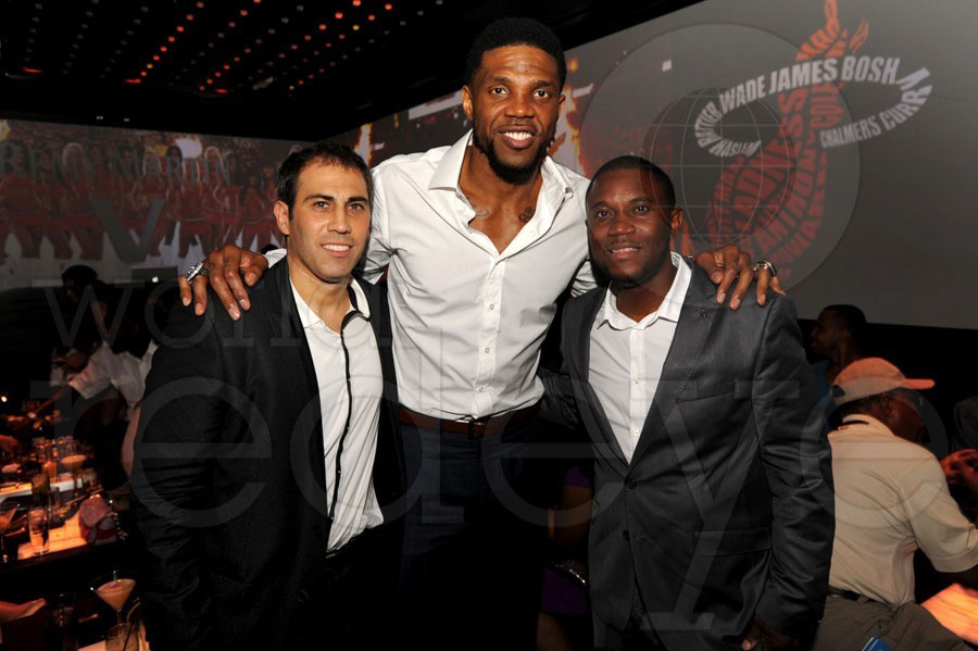 Randy Goldfarb, Udonis Haslem, & Malcolm Jones
