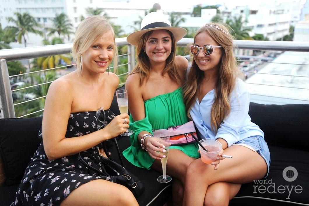 Bethany Platanella, Giovanna Betancourt, & Chelsea Colombo