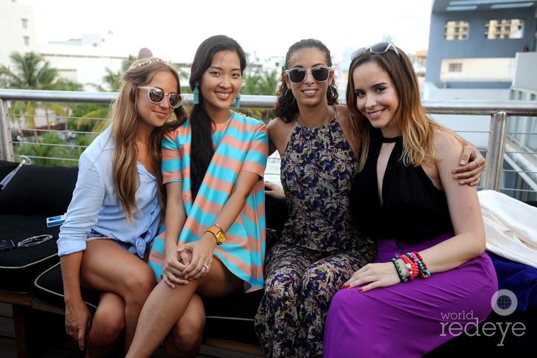 Chelsea Colombo, Sara Wiener, Soraya Fays, & Stephanie Veloso