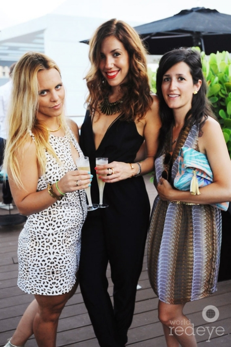 Sarah Bergenheim, Alanna Kendall, & Lynn Filanta