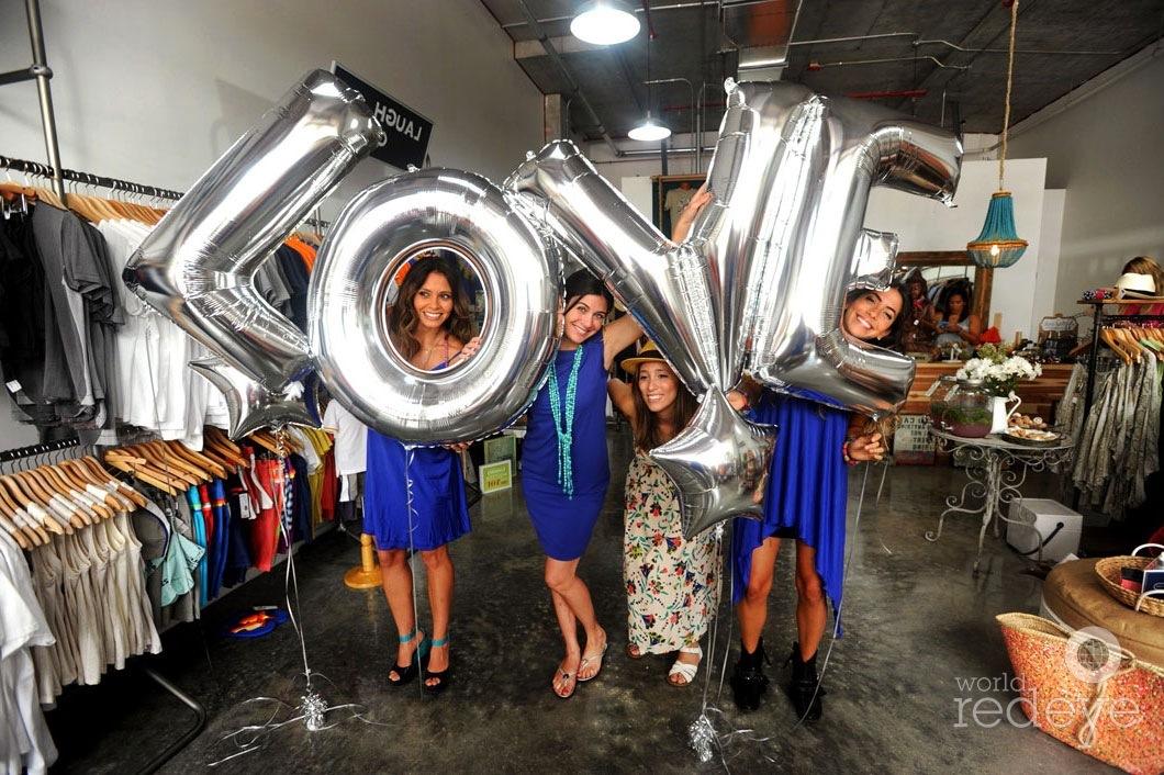 Daniela Garcia, Irene Abreu, Annette Figueredo, & Brenda Relayze