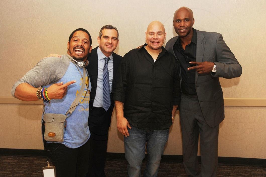 Rohan Marley, Andrew Weissman, Fat Joe, & Cliff Floyd