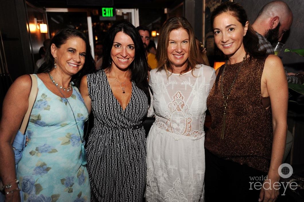 Fay Bochner, Nicole Burger-Rainis, Dana Shear, & Laura Bucceltati