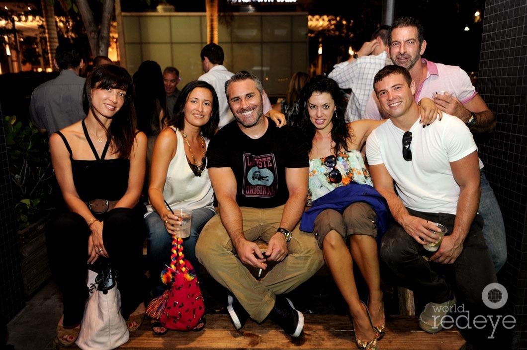 Cleo Vo-Dai, Constanza Maute, Chris & Katerina Cozias, & friends