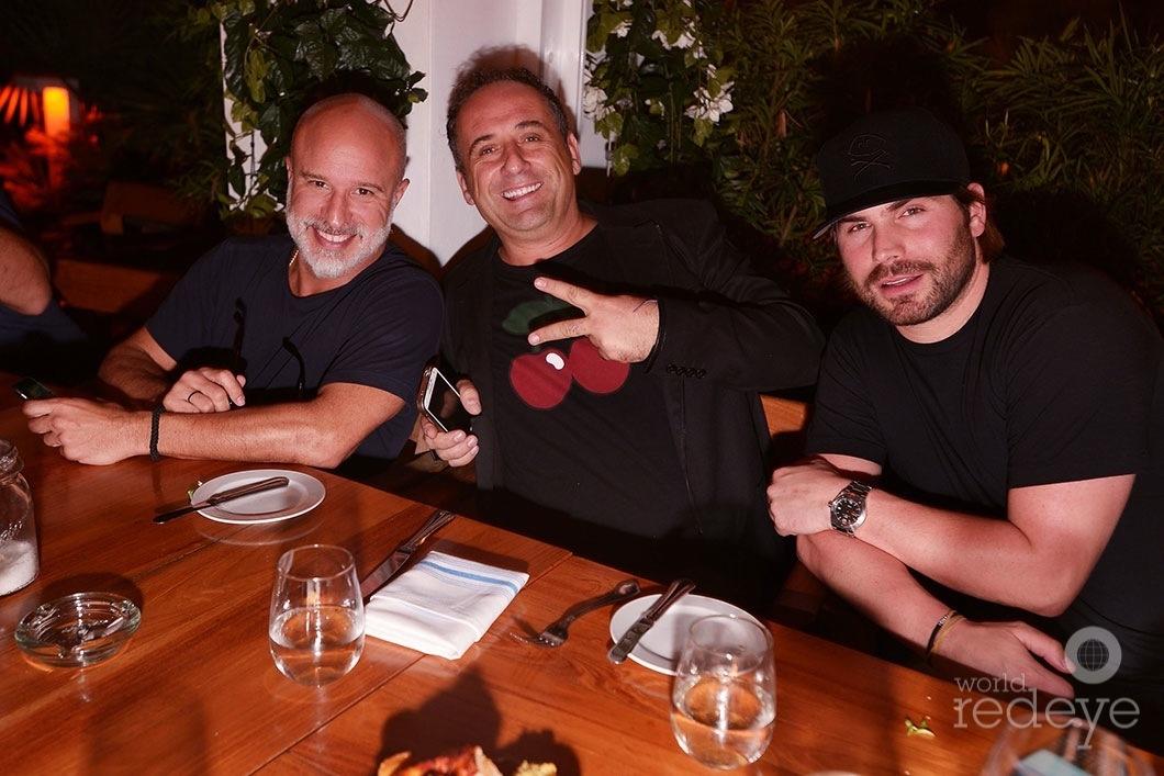 Moe Garcia, Antonio Martucci, & Joe Lahoud