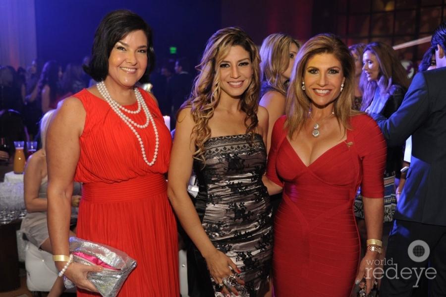Ana Margarita Martinez, Lena Burke, & Theresa Rodriguez