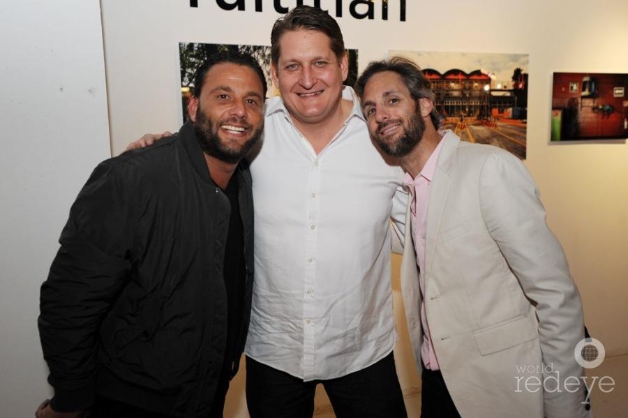 David Grutman, Courtland Lantaff, & Seth Browarnik