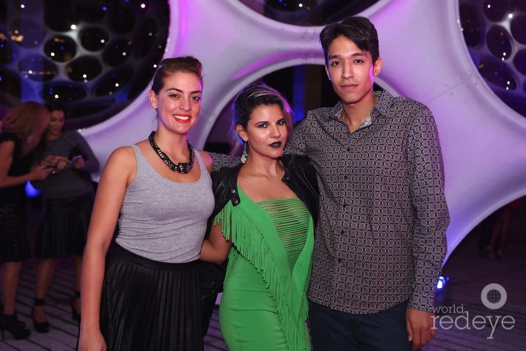 Alexa Ferra, Aileen Quintana, & Friend