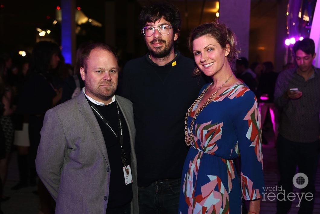 Tobias Ostrander, Tracy Belcher, & Friend