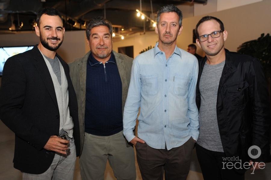 Nathan Lieberman, Robert Curran, Greg Frehling, & AJ Rosenfeld