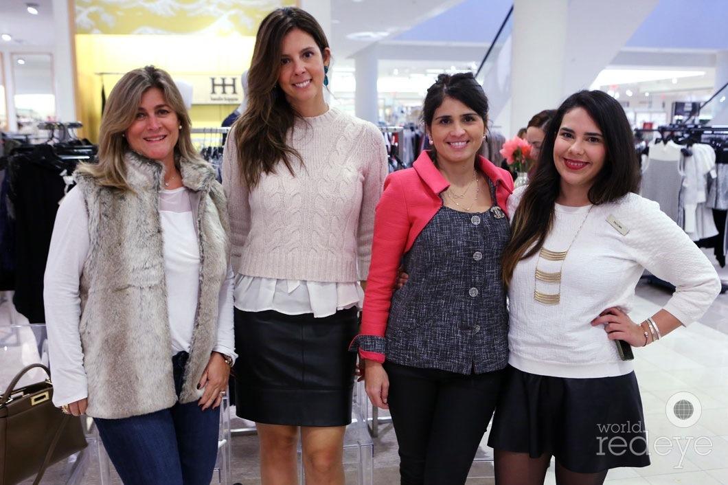Marcia Barros, Susan Siqueira, Ana Miranda, & Taci Lima