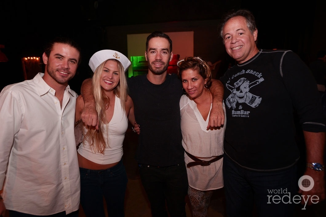 Justin Hodges, AJ Schild, Jason Odio, Georgina Dealmagro, & Jose Dealmagro