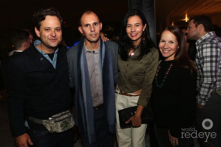 Nick Gelpi, Cristobal Manuel & Alexandra Gonzalez, & Estee Gelpi
