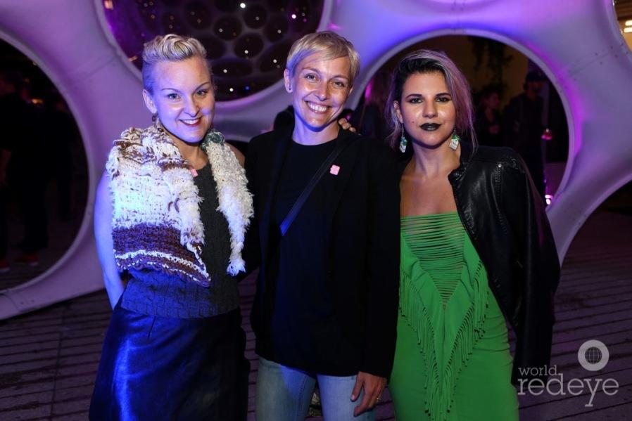 Erin Parish, Tripti Zehdnicker, & Aileen Quintana