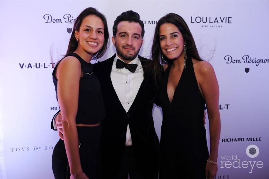 Gabriela Gill, Danilo Diazgranados, & Tina Villa