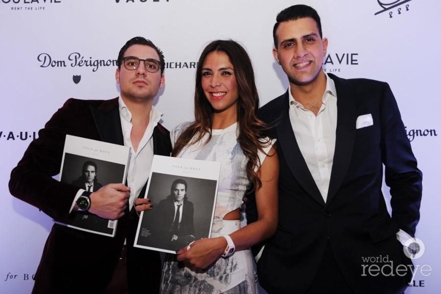 Samuel Naldi, Nandina Varela, & Christopher Daabou