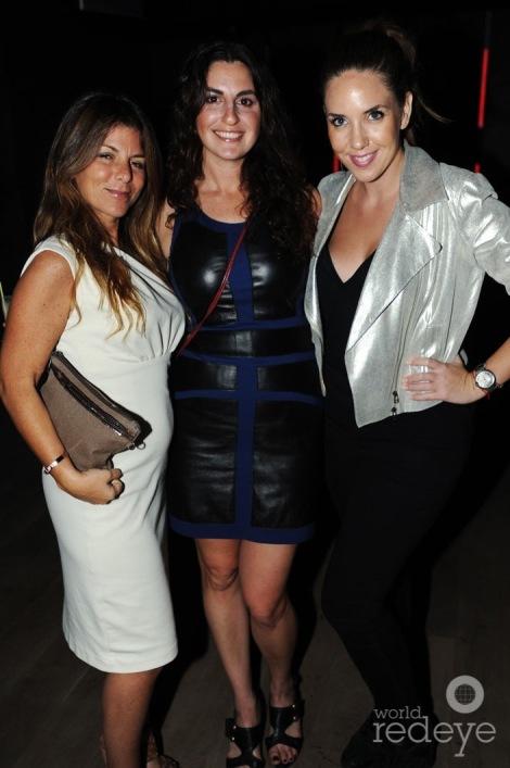 Caroline Berdugo, Rachel Baum, & friend