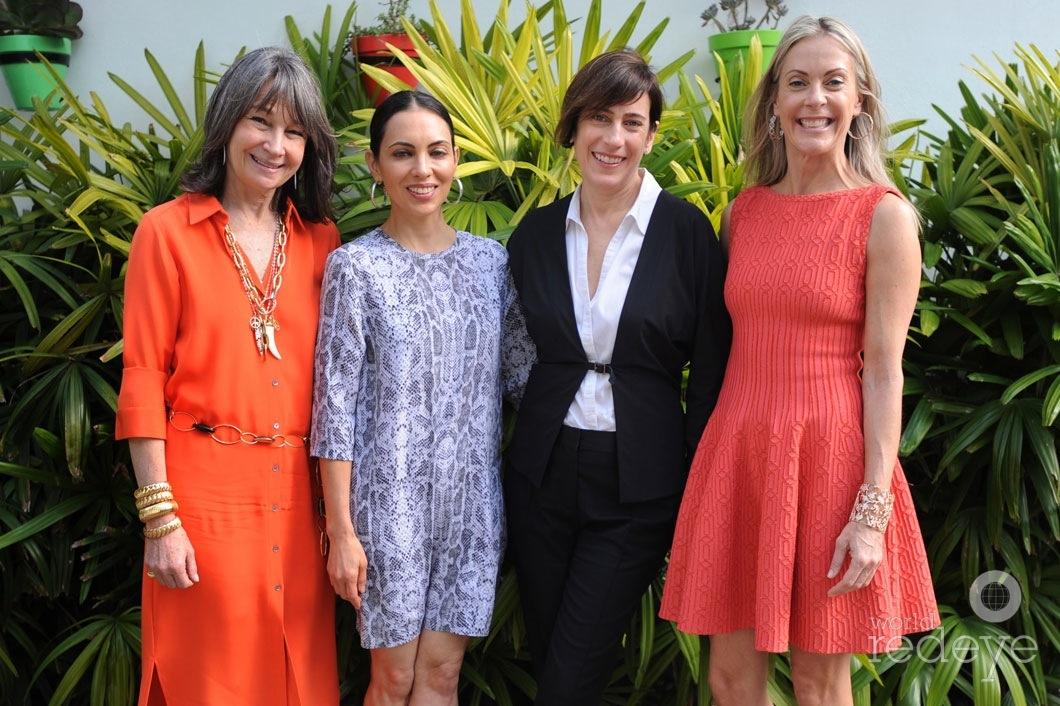 Brooke Neidich, Teresita Fernandez, Madeleiene Gyrnzstejn, & Sue Hostetler