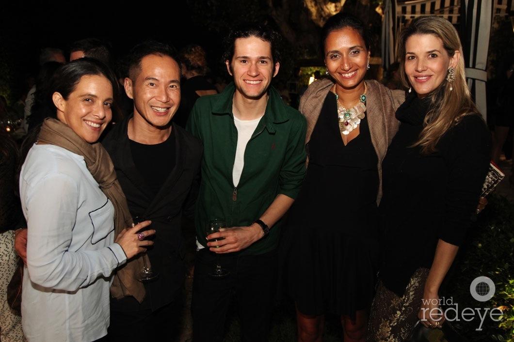 Fernanda Domit, Marcus Teo, Seth Johnson, Priya Panjabi, & Andrea Naboa