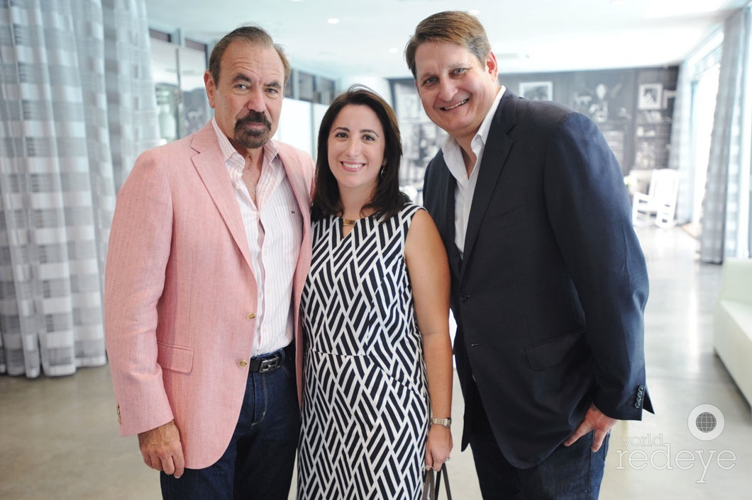 Jorge Perez, Patricia Hanna, & Courtland Lantaff