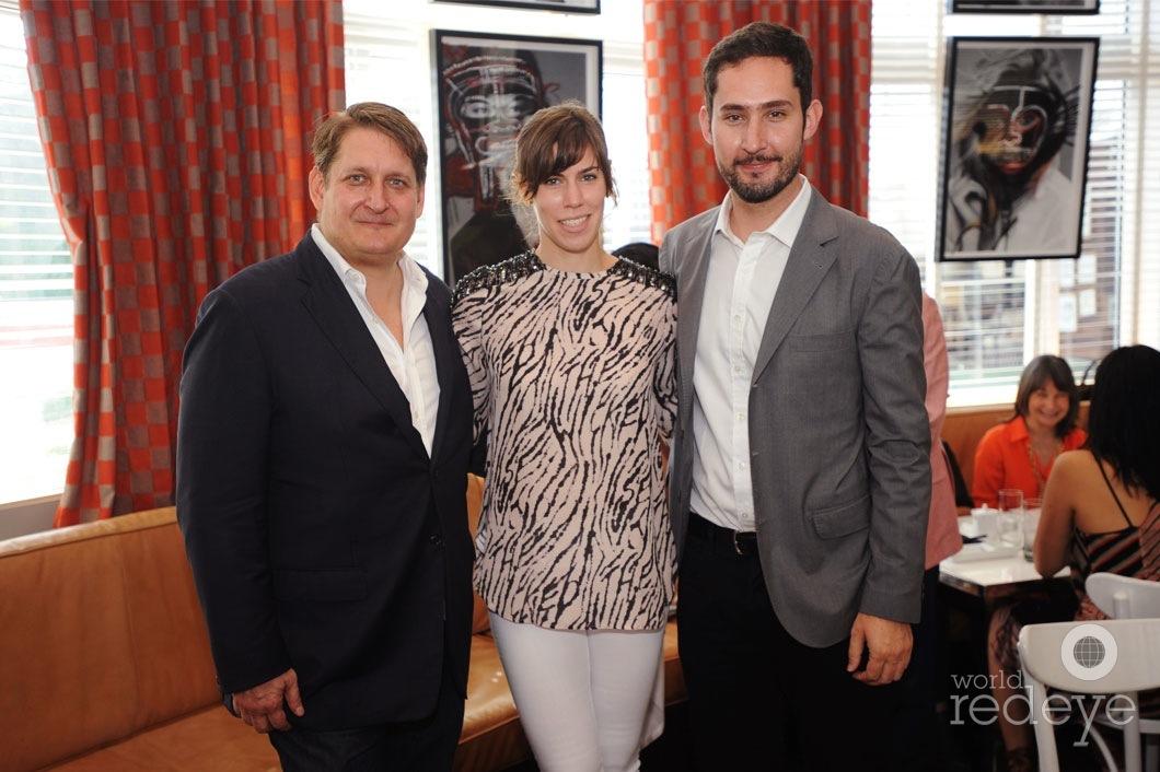 Courtland Lantaff, Kevin Systrom, & friend