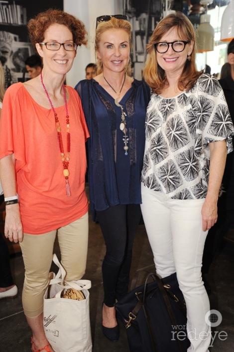 Amanda Coulson, Bibi Gritti, & Anne-Shelton Aaron