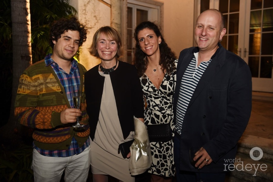 David Wiseman, Axelle De Buffevent, & Rapheala Allouche