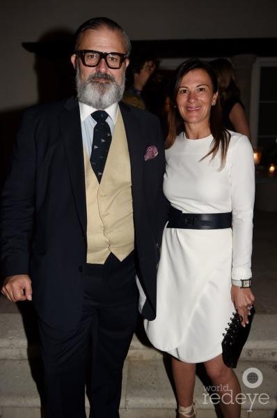 Alejandro Muguerza & Sarah Harrelson