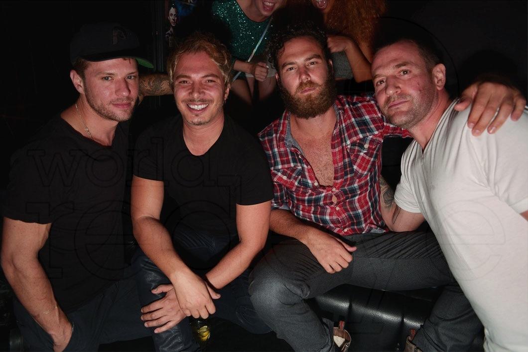 Ryan Phillippe, Nick D'Annunzio, Joe Gossett, & Matt Sinnreich