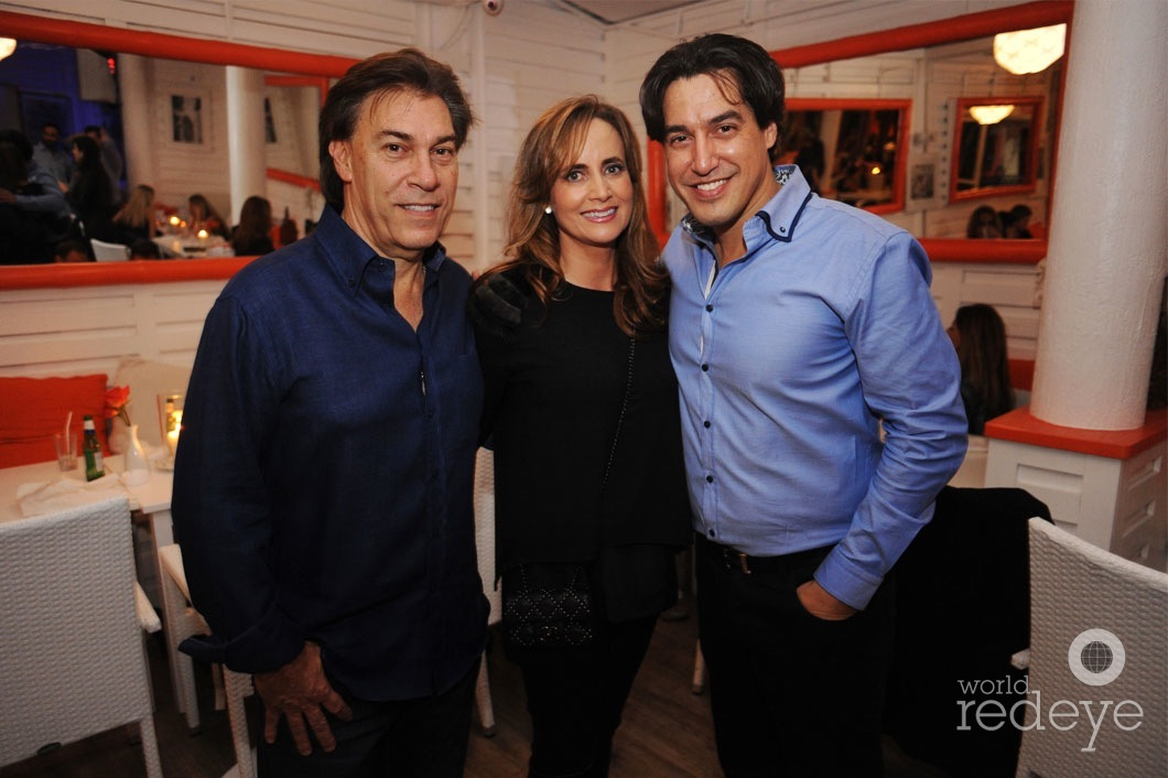 Edgardo Defortuna, Ana Christina Defortuna, & Andres Asion