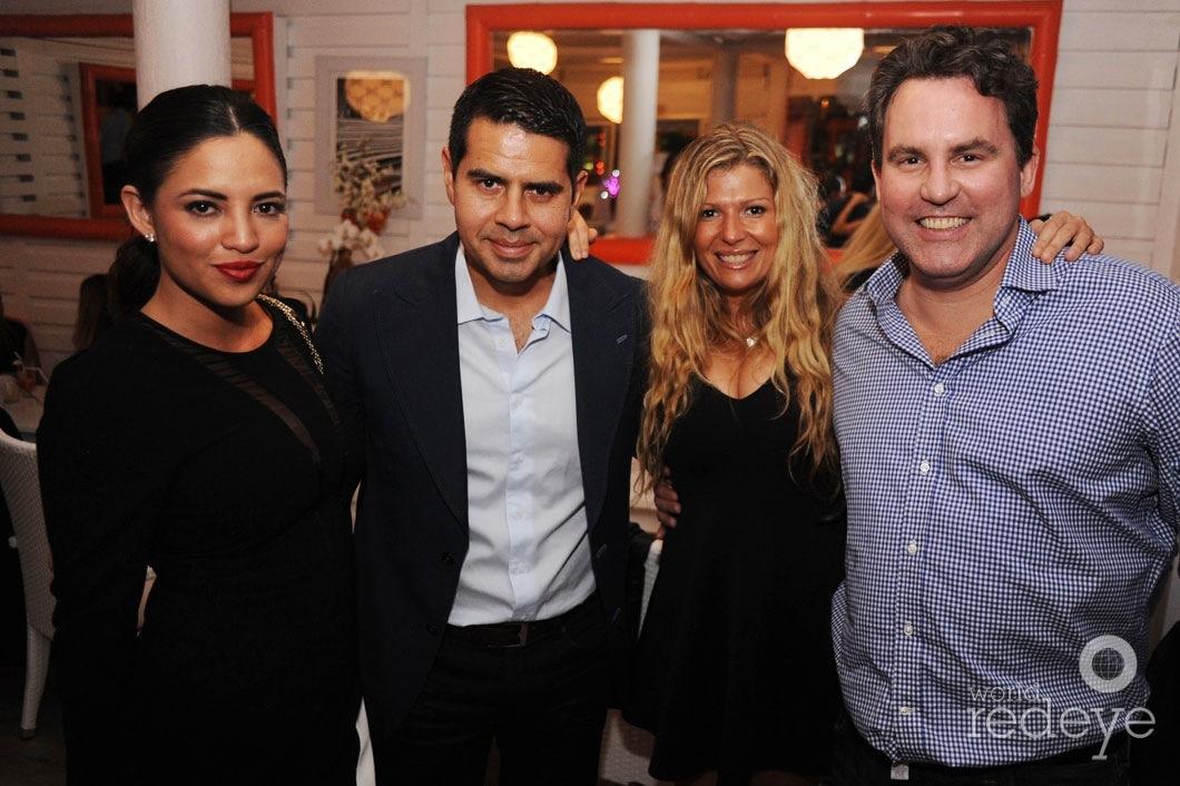 Pamela Conde, Cesar Conde, Almy Tessarolo, & Peter Kellner