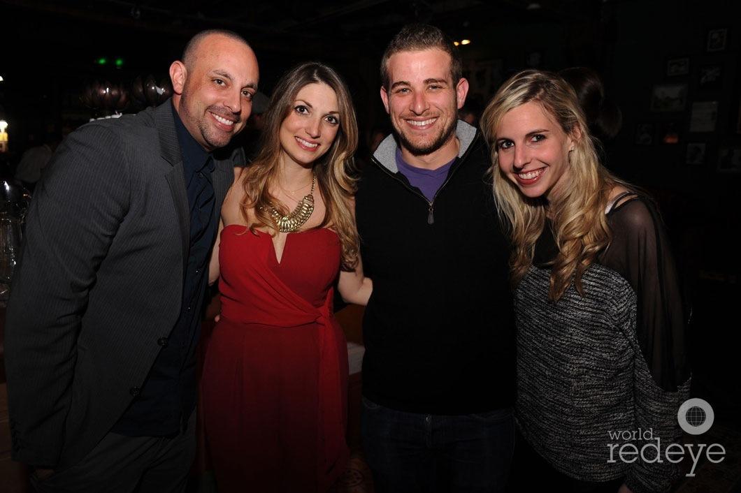 Zack Bush, Gina Bush, Seth Bour, & Lisa Kass